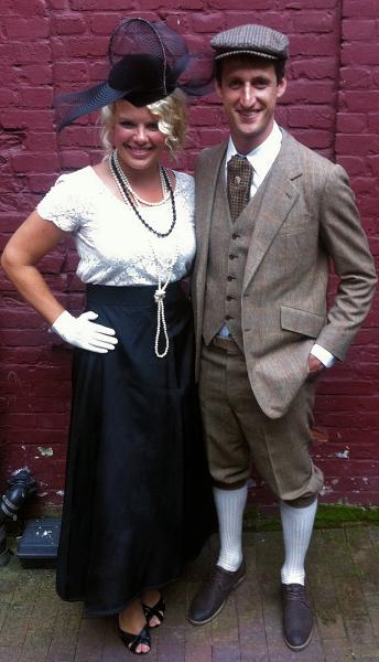 Gatsby Couple Costumes